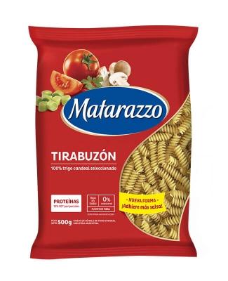 Fideos Tirabuzón Matarazzo X 500 Grs