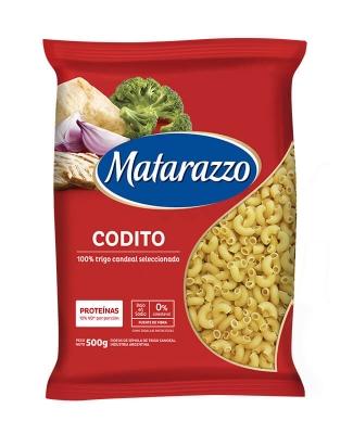 Fideos Codito Matarazzo X 500 Grs