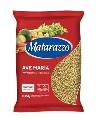 Fideos Ave María Matarazzo X 500 Grs
