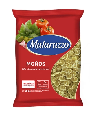 Fideos Moño Matarazzo X 500 Grs