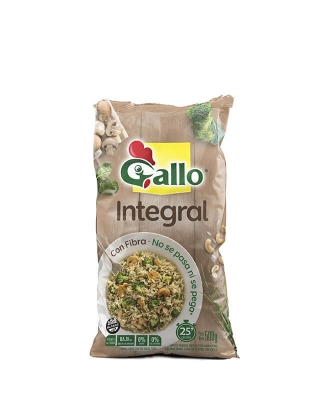 Arroz Gallo Integral X 500 Grs
