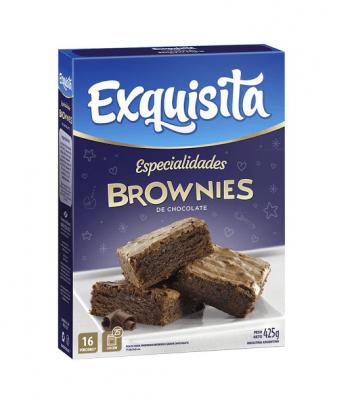Exquisita Brownies X 425 Grs