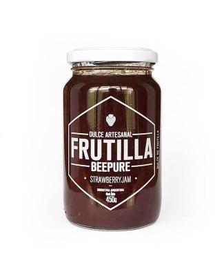 Mermelada/ Dulce Artesanal Frutilla Beepure X 450 Grs