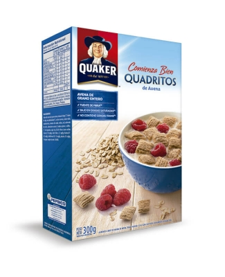 Cereales Quadritos Quaker X 300 Grs
