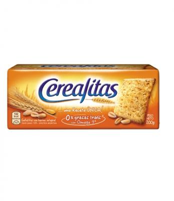 Galletitas Cerealitas Clásicas  200 Grs