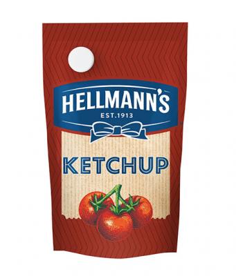 Ketchup Hellmanns X 500 Grs