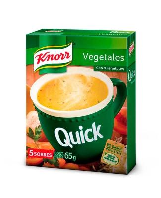 Sopa Quick Vegetales
