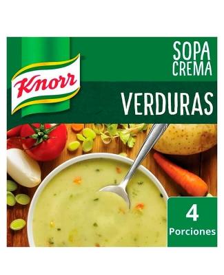 Sopa Crema Knor Verduras