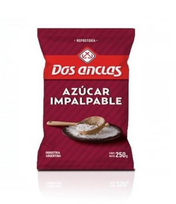 Azucar Impalpable Dos Anclas X 250 Grs