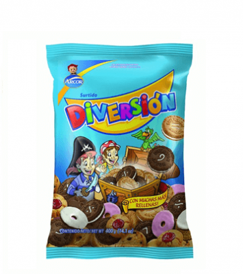 Galletitas Diversion X 400 Grs