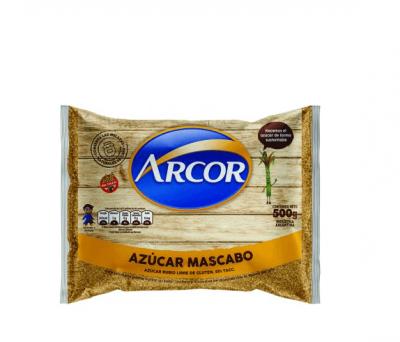 Azúcar Mascabo Arcor X 500gr
