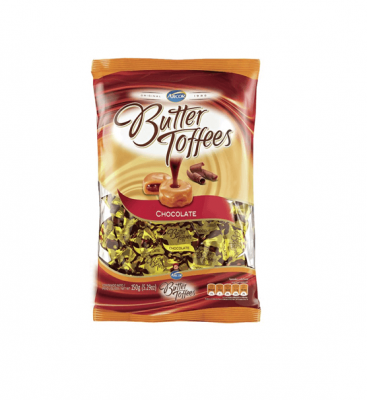 Caramelos Butter Toffees Chocolate X 150 Grs