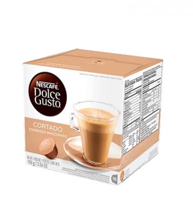 Cafe Dolce Gusto Cortado X 16 Capsulas