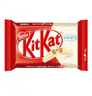 Chocolate Kit Kat 4 Fingers Blanco X 1 Unidad