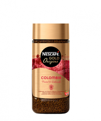 Cafe Instantaneo Nescafe Gold Origins Colombia X 100 Grs