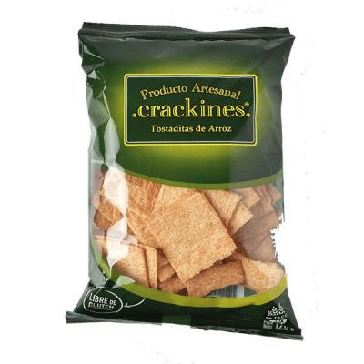 Crackines Tostaditas De Arroz  X 120 Grs