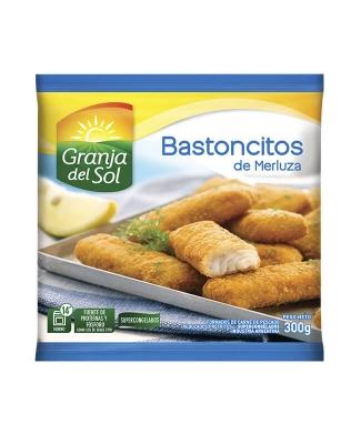 Bastoncitos De Merluza X 300 Grs