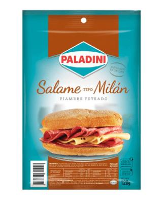 Salame Feteado Paladini X 120 Grs
