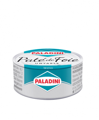 Pate De Foie Paladini X 90 Grs