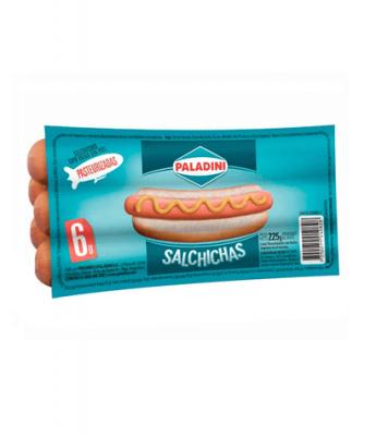 Salchicha Paladini X 6 Un
