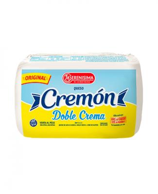 Queso Cremon Doble Crema La Serenisima X 600 Grs