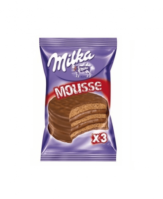 Alfajor Milka Mousse Triple X 55 Grs