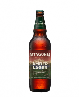 Cerveza Patagonia Amber Lager X 740 Cc
