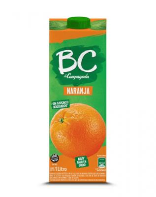 Jugo De Naranja Bc X 1 Lts