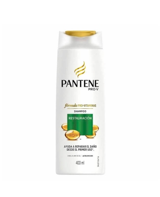 Shampoo Pantene Restauración Total X 400 Ml