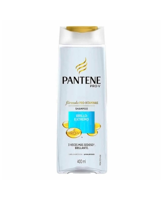 Shampoo Pantene Brillo X 400 Ml