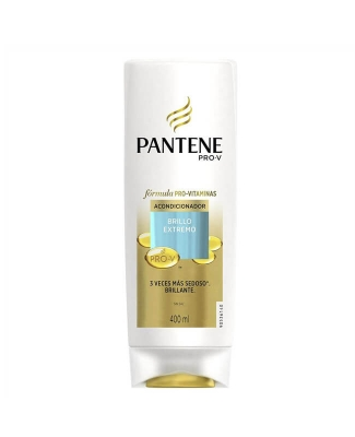 Acondicionador Pantene Brillo X 400 Ml