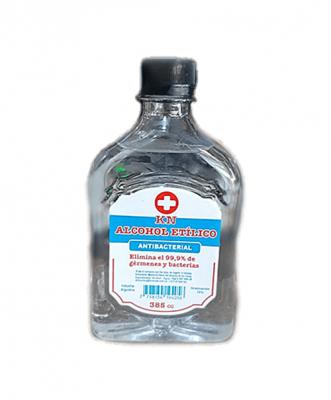 Alcohol Etílico Antibacterial X 385 Cc